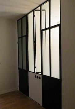 Carette verrière standard avec fenêtre