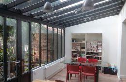Veranda atelier artiste Verriere Carette 2